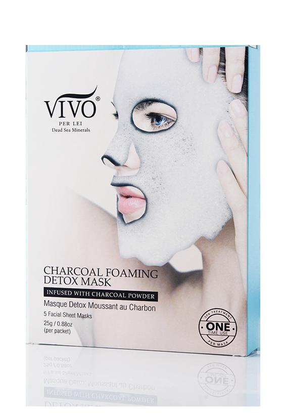 Charcoal Foaming Detox Mask