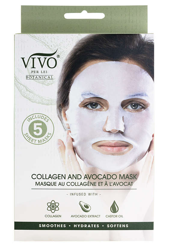 Collagen and Avocado Mask