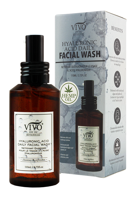 Hyaluronic Acid Daily Facial Wash