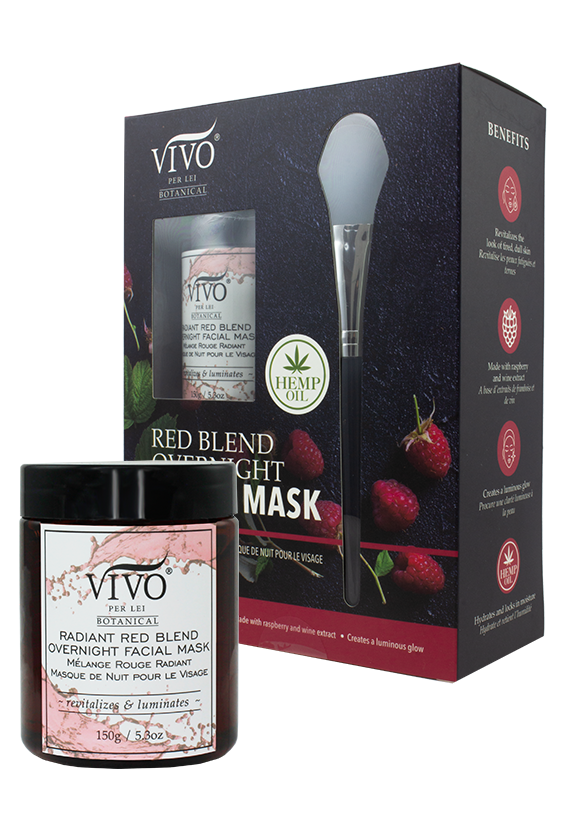 Radiant Red Blend – Overnight Facial Mask