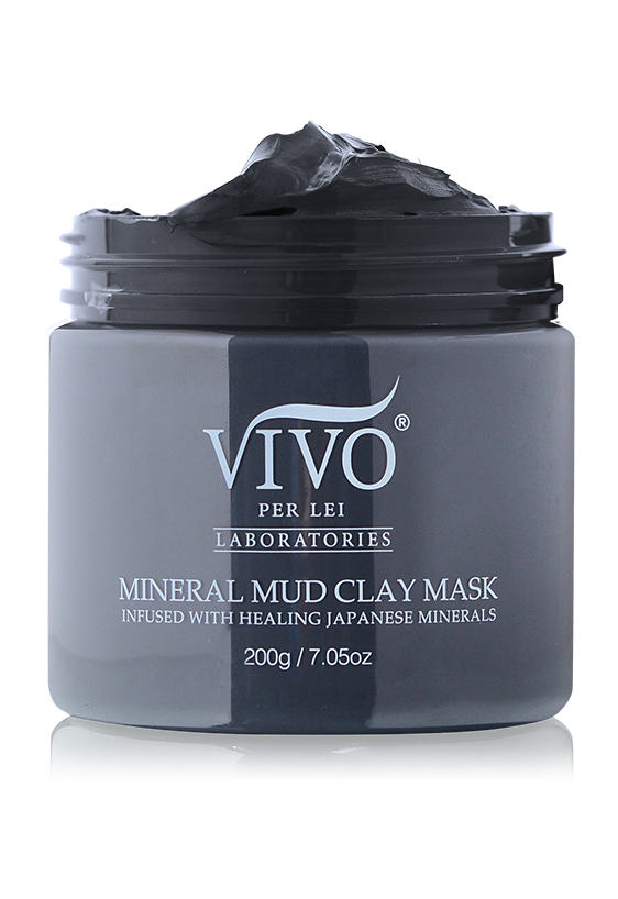 mineral mud clay mask